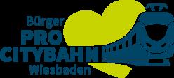 Logo von Bürger Pro Citybahn Wiesbaden e.V.